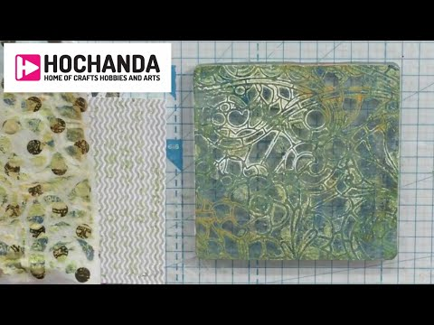 Crafts With Gelli Plates - Tips Techniques And More At Hochanda!