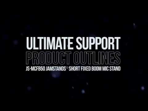 JAMSTANDS by Ultimate JS-MCFB50 Microphone Stand