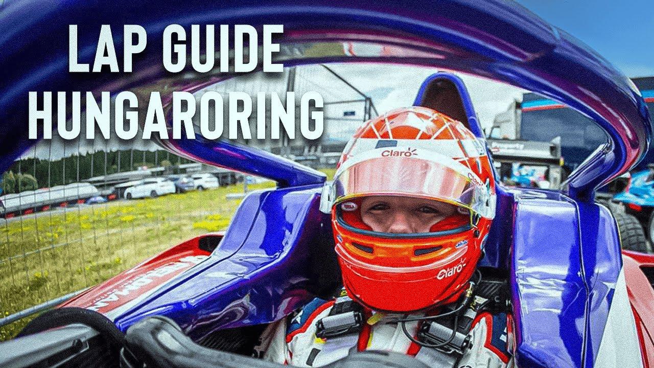 LAP GUIDE F1 2021 HUNGARORING | ENZO FITTIPALDI