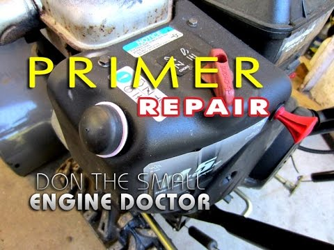 HOW-TO Fix A Hard To Start Snowblower By Replacing The Primer Line
