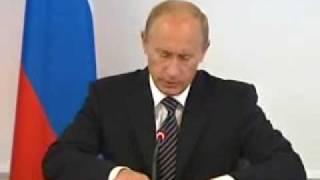 В.Путин.Авария на Саяно-Шушенской ГЭС.21.08.09.Part 1