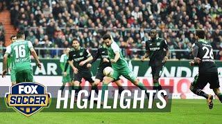 Werder Bremen vs. Hannover 96   2015–16 Bundesliga Highlights