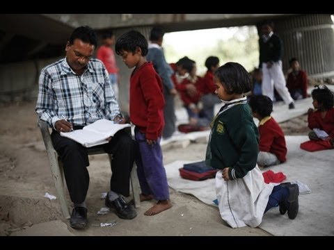 A free school for slum children