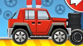 Dream Cars Factory - Game App for Kids by Happy-Touch (iPad)
