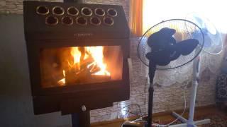 Печь-камин Термофор гармошка INOX - беспроигрышный вариант для дачи(Демонстрация работы отопительной печи-камины INOX гармошка от Термофор. А купить такую печь можно здесь..., 2016-12-05T14:49:05.000Z)