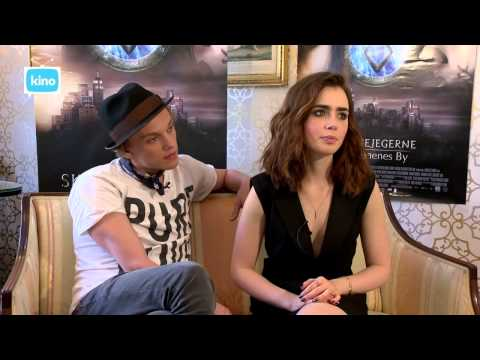 kino TV - Interview with Lily Collins and Jamie Campbell Bower