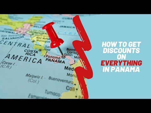 Panama's Famous Pensionado Discounts