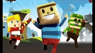 Colorful Game – Minecraft Gun Fire in a Battle & Parkour Adventure with Colors Scenes, Game for kids
