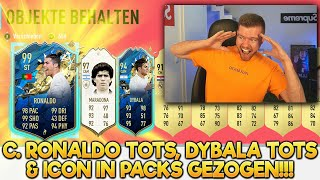 OMG!! C. RONALDO TOTS 99 & PRIME ICON IN EUREN WEEKEND LEAGUE REWARDS 😍😍 FUT CHAMPIONS PACK OPENING