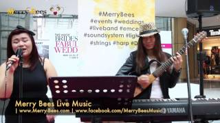 Merry Bees Live Music - Ariane & Fatt sings Sugar (Maroon 5 cover)