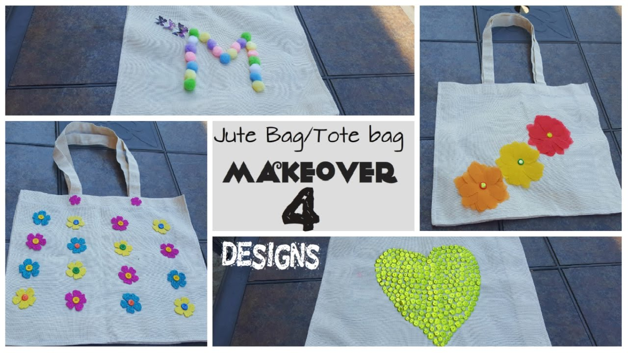 sale retailer promo code entire collection DIY JUTE BAG makeover in 4 ways - Blah to Beauty Full
