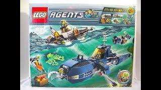 lego Agents - Deep Sea Quest Review (обзор на русском)