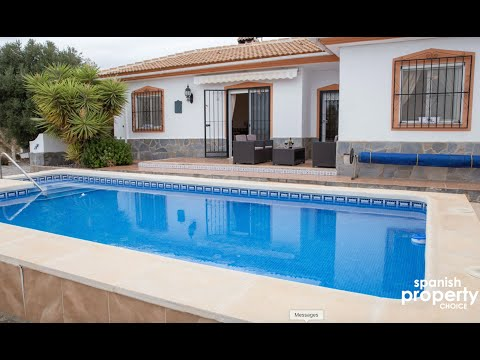 Spanish Property Choice Video Property Tour - Villa A1200 Albox, Almeria, Spain. 179,950€