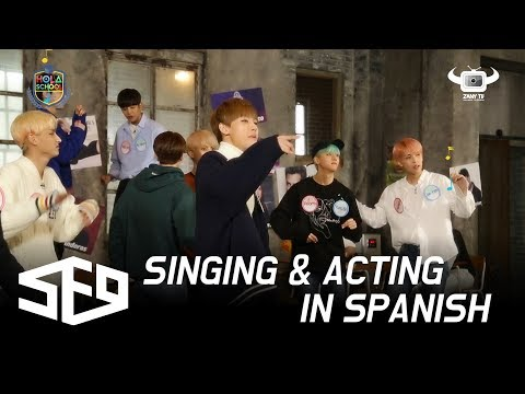 [HOLA SCHOOL WITH SF9] DANCE, SONG AND ACTING CLASSES IN SPANISH! (EP2)