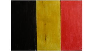 How to draw Belguim flag