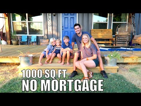 Debt Free Family of 5 - build 1000 sq ft Home NO Mortgage | Latigo Life