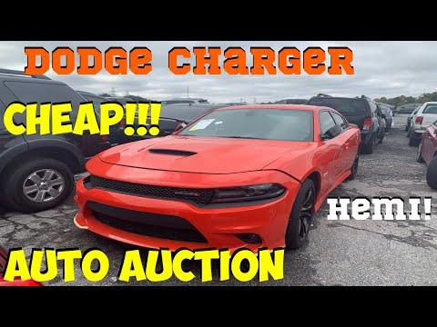 IAA INSURANCE AUTO AUCTION + ADESSA WALK AROUND DODGE CHARGER R/T