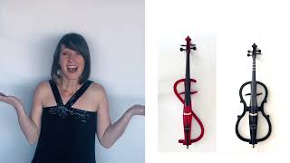 5 ELECTRIC CELLO COMPARISON! Review Yamaha Silent Cello 210, Yamaha 110, NS Design & Cecelio cellos!