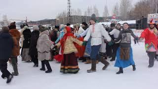 2017_02_18 Масленица_город Миасс, 3 часть_Хороводы