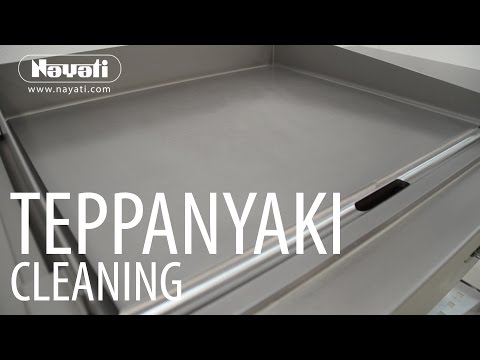 Cleaning Process Of Nayati Teppanyaki