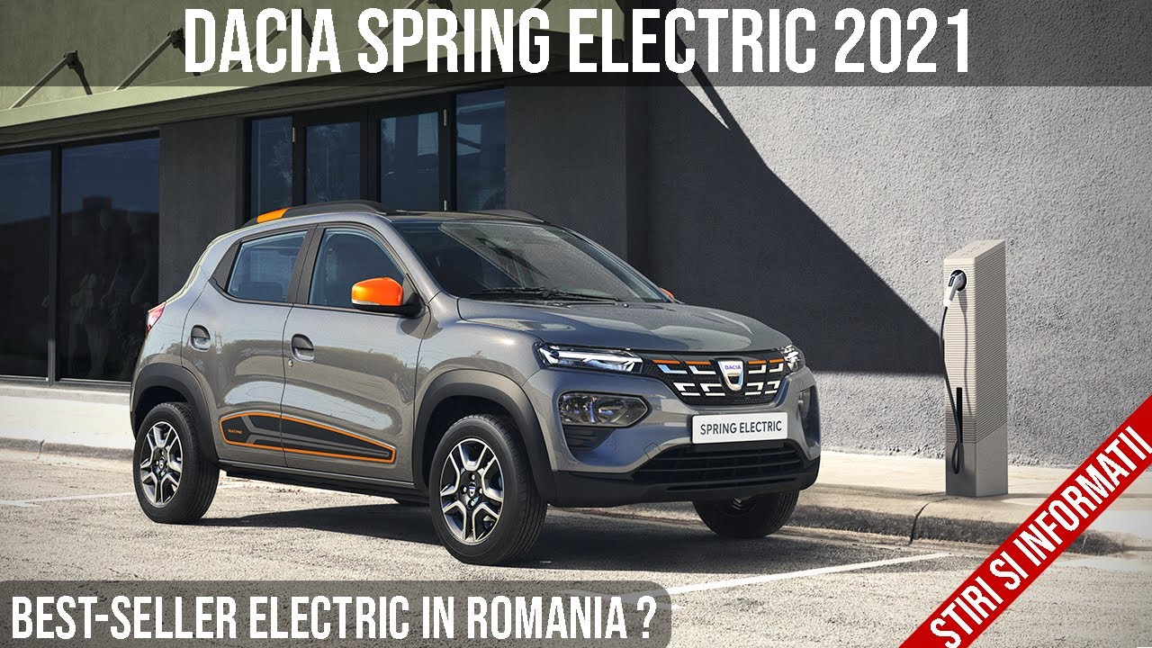 Noua Dacia Spring 2021 - Masina electrica noua la 7.700 de euro! Best-seller electric in Romania?