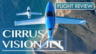 Cirrus Vision Jet. Flight review