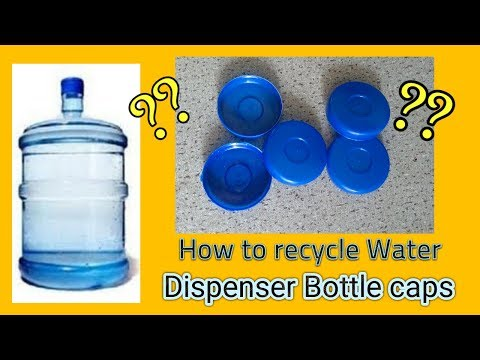 How to reuse /recycle the waste  water bottle caps.. Best from waste
