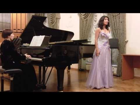 2013: Piano - Classical music for soprano and piano - Moscow Conservatory