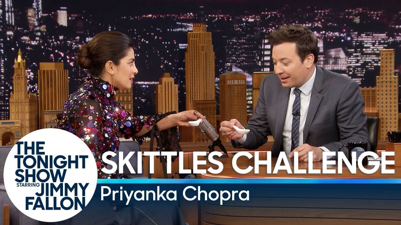 Watch Priyanka Chopra Jonas Take on the 'Hot Ones' Challenge on 'Fallon'