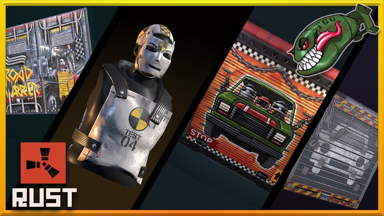 Rust Top Skins Modular Car Update Theme Garage Doors A Plenty 97 Rust Skin Picks Youtube