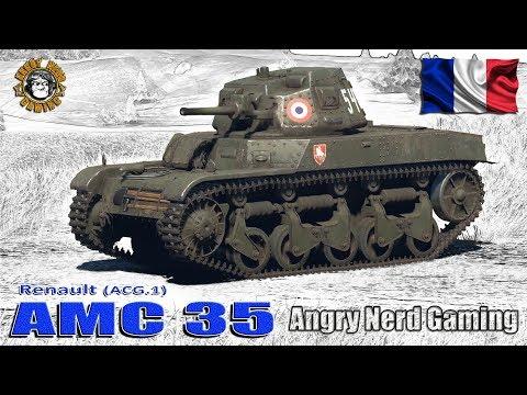 War Thunder: AMC.35 (ACG.1), French, Tier-1, Light Tank