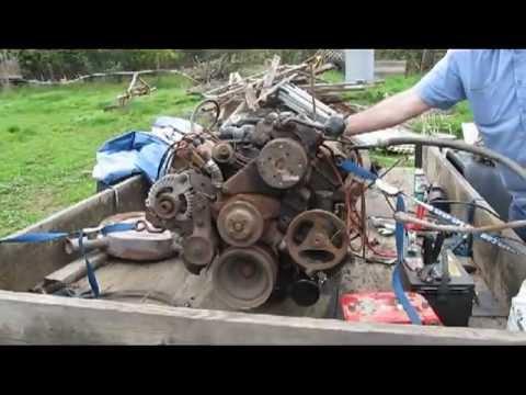 FOR SALE: MOPAR (426) - 440 413 383 400 RB HP ? 1968 COPLETE RUNNING ENGINE HP EX DUAL SNORKEL
