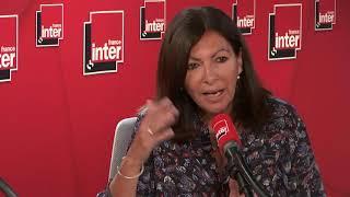 """Anne Hidalgo, Maire De Paris : """"je Continuerai à Prendre Soin De Ma Ville"""""""