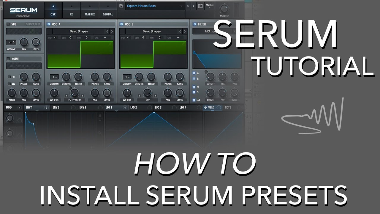 serum presets folder not found