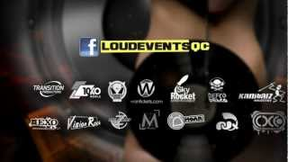 Louder Rave 2 sept 2012 Quebec City