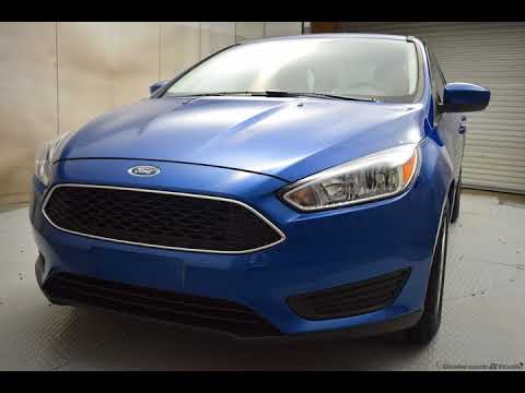 2018 Lightning Blue Metallic Ford Focus 4D Sedan #6994