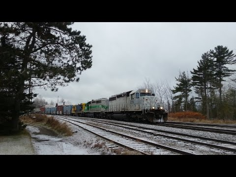 Two CMQ Job 2's In Jackman, Maine