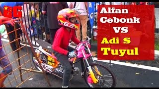 Download Video Drag Bike ALFAN CEBONK VS ADI S TUYUL CST Kejurnas Kajen 2015 HD MP3 3GP MP4