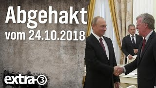 Abgehakt am 24.10.2018