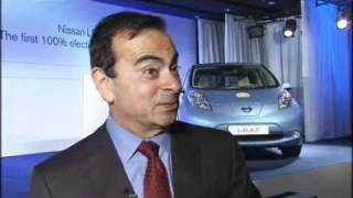 Interview with Carlos Ghosn, President and CEO, Nissan Motor Co. Ltd