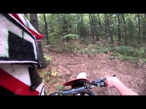 1987 Honda XR250R trail ride