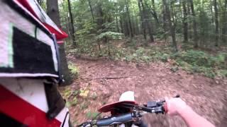 1987 Honda XR250R trail ride