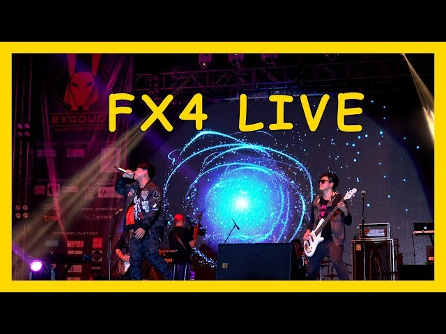 【Concert】FX4 Live Performance @ TARCUC EXODUS (2018) - 精彩篇 1