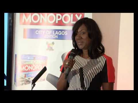 OFFICIAL UK UNVEILING OF THE CITY OF LAGOS EDITION OF MONOPOLY