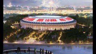 После реконструкции стадион Лужники стал лучшим в мире / Luzhniki stadium was the best in the world