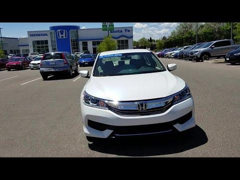 2016 Honda ACCORD Sedan LX Santa Fe New Mexico