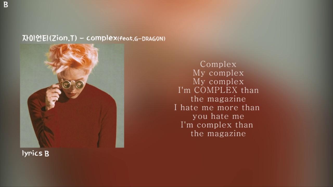 complexfeat G DRAGON Zion T lyrics video  : maxresdefault from www.youtube.com size 1280 x 720 jpeg 82kB