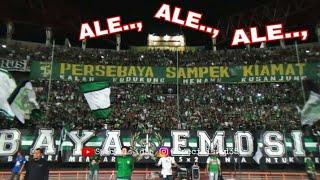 Mirip Chant Eropa..!!! ini Chant Kemenangan di Green Nord Tribun, Persebaya vs Mitra Kukar