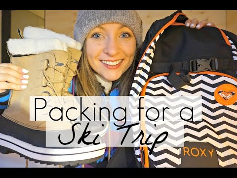 What to pack for a ski and snowboard trip | Travel tips | Annie Bean