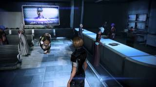 Mass Effect 3 [PC - FemShep Soldier]: The Citadel (1st Visit)